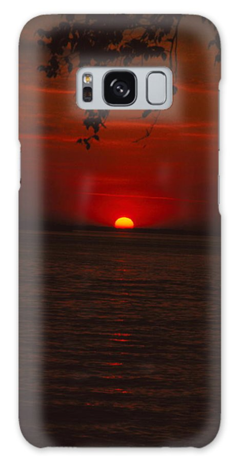 Sunset Galaxy S8 Case featuring the photograph Saint Lawrence River Sunset Iv by Brian Lucia