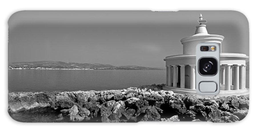 Kefalonia; Kefallonia; Kefallinia; Agii Galaxy S8 Case featuring the photograph Saint Theodori Lighthouse by George Atsametakis