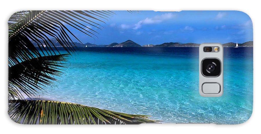 St. John Galaxy S8 Case featuring the photograph Saloman Beach - St. John by Stephen Vecchiotti