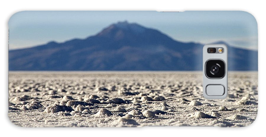 Harvest Galaxy S8 Case featuring the photograph Salt Flat Surface by For Ninety One Days