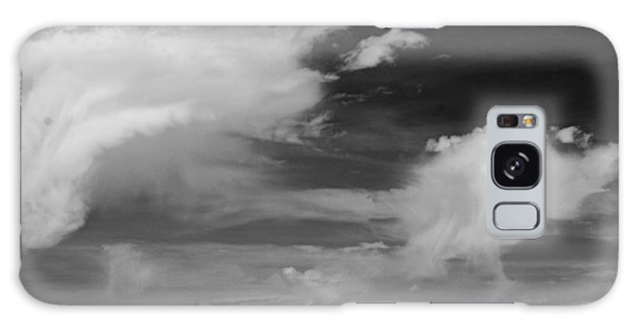Great Salt Lake Galaxy S8 Case featuring the photograph Salt Flats Clouds by Eric Tressler