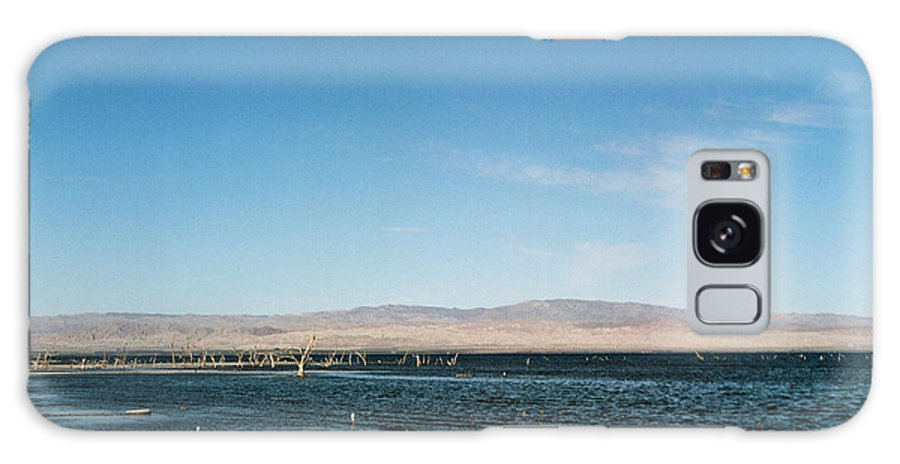 United States Of America Galaxy S8 Case featuring the photograph Salton Sea by Leonid Rozenberg