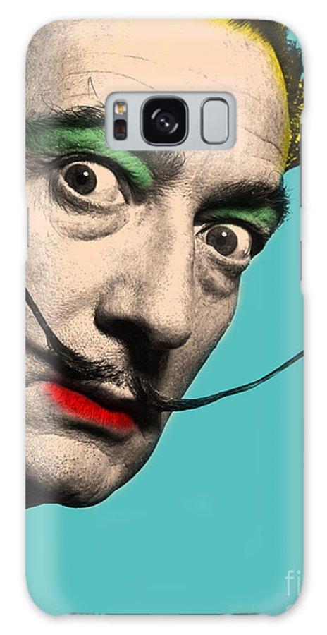 Salvador Dali Galaxy Case featuring the digital art Salvador Dali by Mark Ashkenazi