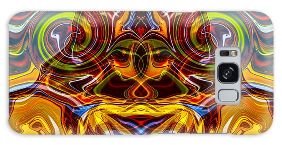 Washington Galaxy S8 Case featuring the painting Samurai Warrior by Omaste Witkowski