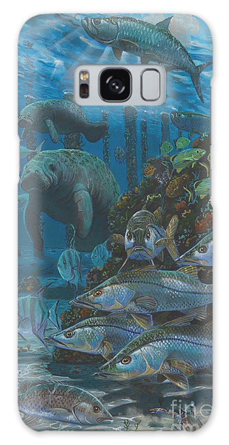 Snook Galaxy S8 Case featuring the painting Sanctuary In0021 by Carey Chen