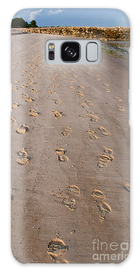 Beach Galaxy S8 Case featuring the photograph Sand In My Toes by Christy Lang