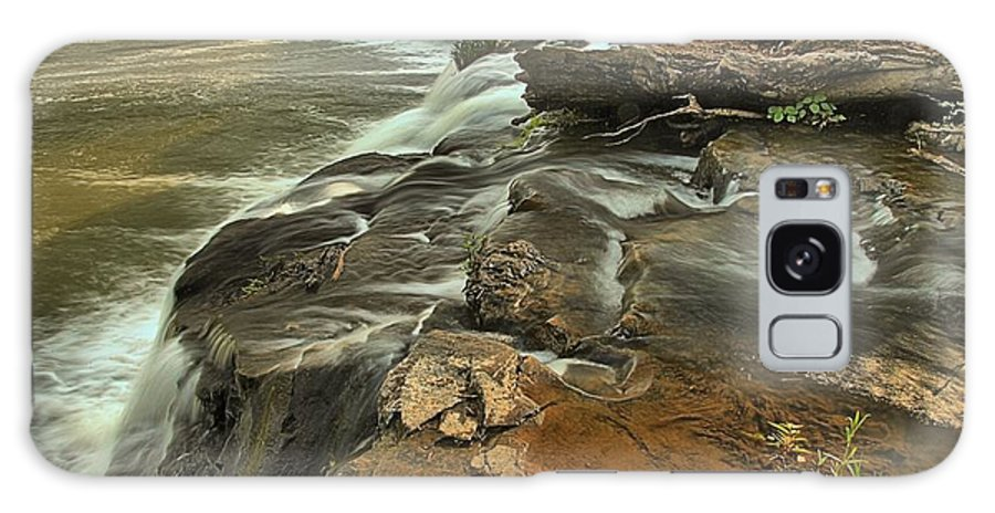 West Virginia Waterfalls Galaxy S8 Case featuring the photograph Sandstone Falls by Adam Jewell