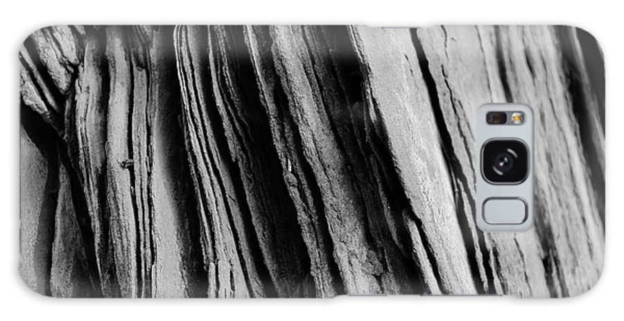 Sandstone Galaxy S8 Case featuring the photograph Sandstone Mono by Cassie Ray Yale
