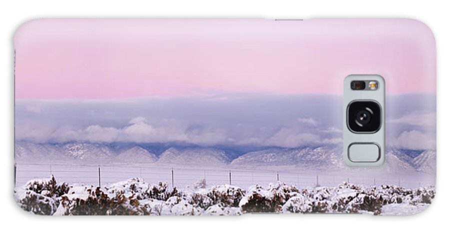 Photography Galaxy S8 Case featuring the photograph Sangre De Cristo Range With Clouds by Panoramic Images