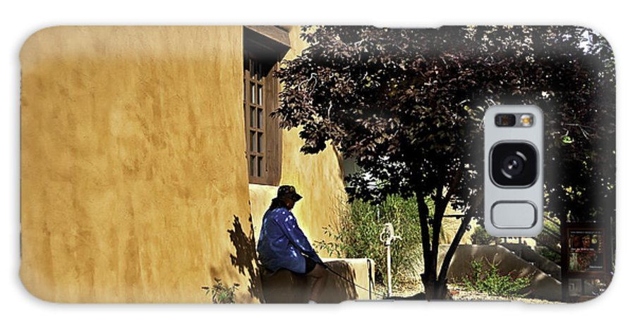Santa Fe Galaxy S8 Case featuring the photograph Santa Fe Afternoon - New Mexico by Madeline Ellis