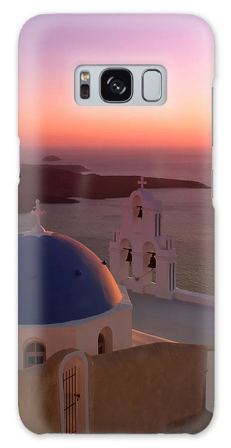 Greece Galaxy S8 Case featuring the photograph Fira by Ollie Taylor