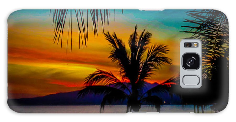 Bucerias Galaxy S8 Case featuring the photograph Saturated Mexican Sunset by Charlene Gauld
