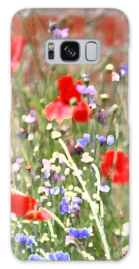 Poppies Galaxy S8 Case featuring the photograph Saturday's Wonder by The Art Of Marilyn Ridoutt-Greene