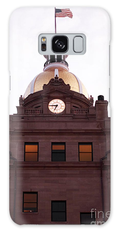 Savannah City Hall Galaxy S8 Case featuring the photograph Savannah City Hall by John Rizzuto