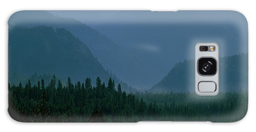 Mountains Galaxy S8 Case featuring the photograph Sawtooth Mountains Silhouette by Ed Riche