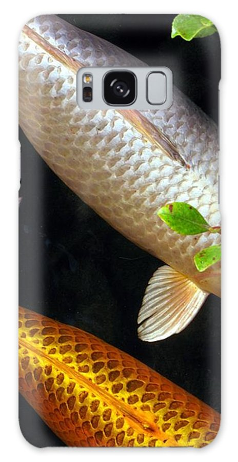 Koi Galaxy S8 Case featuring the photograph Scales by Jennifer Wheatley Wolf