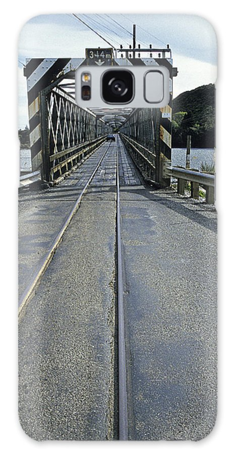 Nz Galaxy S8 Case featuring the photograph Scary N Z Hiway by Doug Davidson