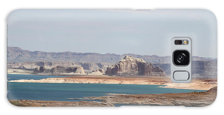 Clouds Galaxy S8 Case featuring the photograph Scenic Lake Powell by Christiane Schulze Art And Photography