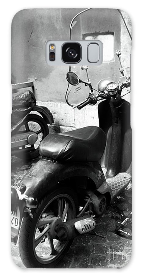 Scooter Parking Galaxy S8 Case featuring the photograph Scooter Parking by John Rizzuto