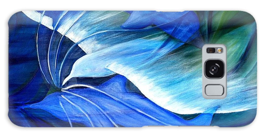 Birds Galaxy S8 Case featuring the painting Sea And Sky by Ellis Burgess