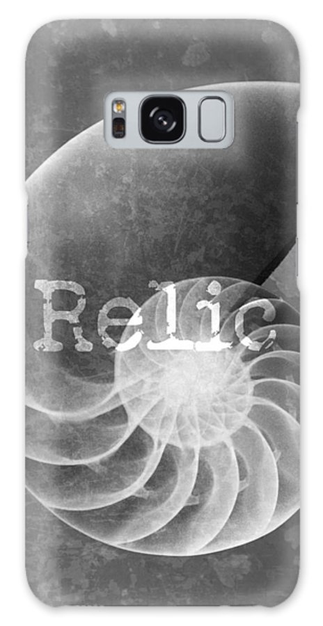 X-ray Art Galaxy S8 Case featuring the photograph Sea Shell Relic Logo by Roy Livingston