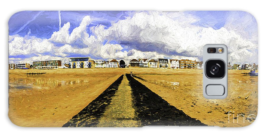 Southend On Sea Galaxy Case featuring the photograph Seafront at Southend on Sea by Sheila Smart Fine Art Photography