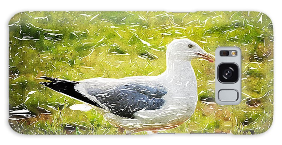 Seagull Galaxy S8 Case featuring the photograph Seagull Walking by Phil Perkins