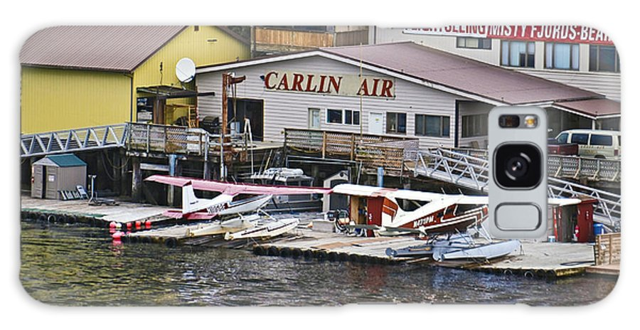 Airplanes Galaxy S8 Case featuring the photograph Seaplane Parking by Howard Stapleton