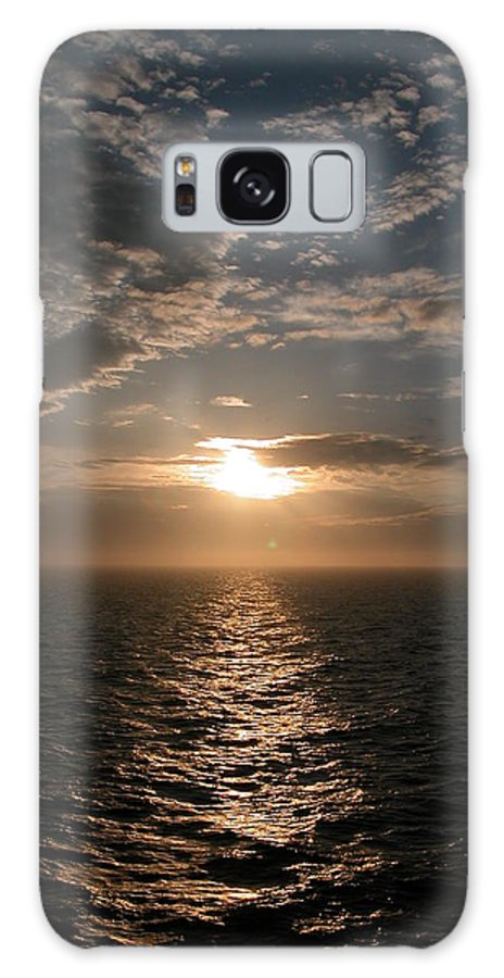 Sea Galaxy S8 Case featuring the photograph Seascape by Kathleen Odenthal