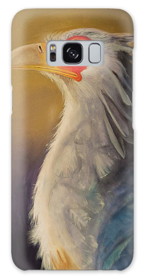 Secretary Galaxy S8 Case featuring the painting Secretary by Jeffrey Woodley
