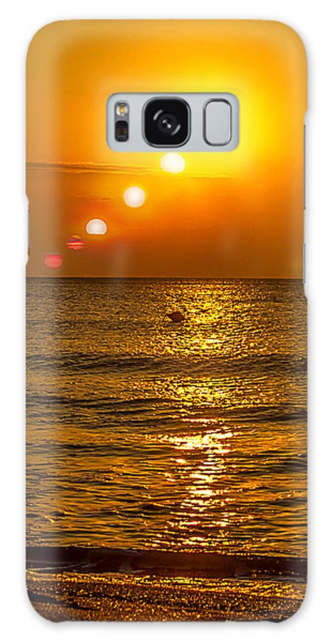 Galaxy S8 Case featuring the photograph Secventa Rasarit Neptun by Leo Coste