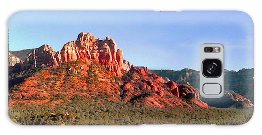 Rocky Hill Galaxy S8 Case featuring the photograph Sedona Rocky Cathedral by Duane McCullough