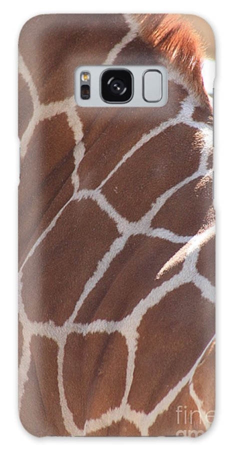 Giraffe Galaxy S8 Case featuring the photograph Seeing Spots by Brandi Maher