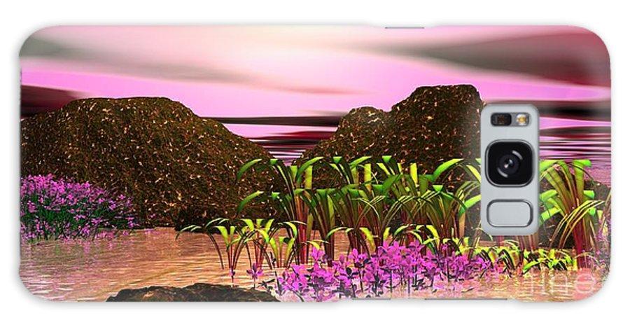 Creation Galaxy S8 Case featuring the digital art Seeking That Shalom Peace by Jacqueline Lloyd