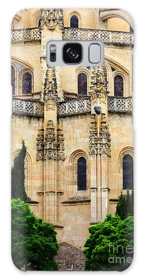 Spain Galaxy S8 Case featuring the photograph Segovia Cathedral by James Brunker