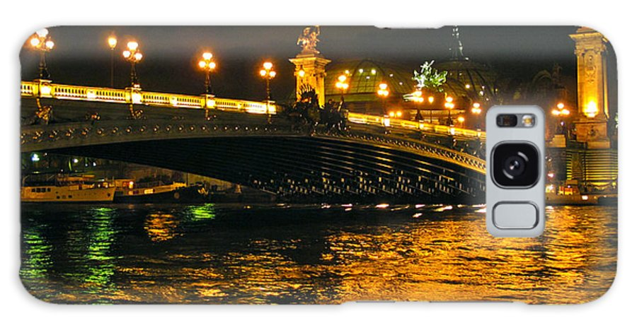 Paris Galaxy S8 Case featuring the photograph Seine's Current by Lexi Heft