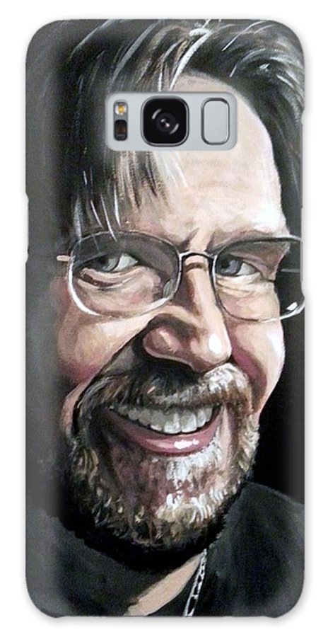 Galaxy S8 Case featuring the painting Self Portrait 2013 by Tom Carlton