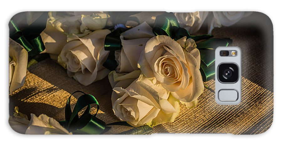 White Roses Galaxy S8 Case featuring the photograph Senior Night.. by George DeLisle