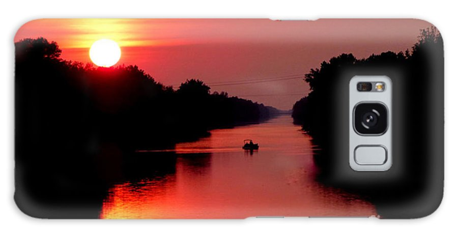 Landscape Galaxy Case featuring the photograph September Sunset by Rennae Christman