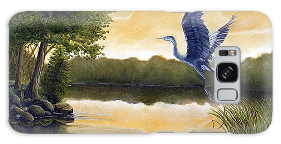 Rick Huotari Galaxy S8 Case featuring the painting Serenity by Rick Huotari