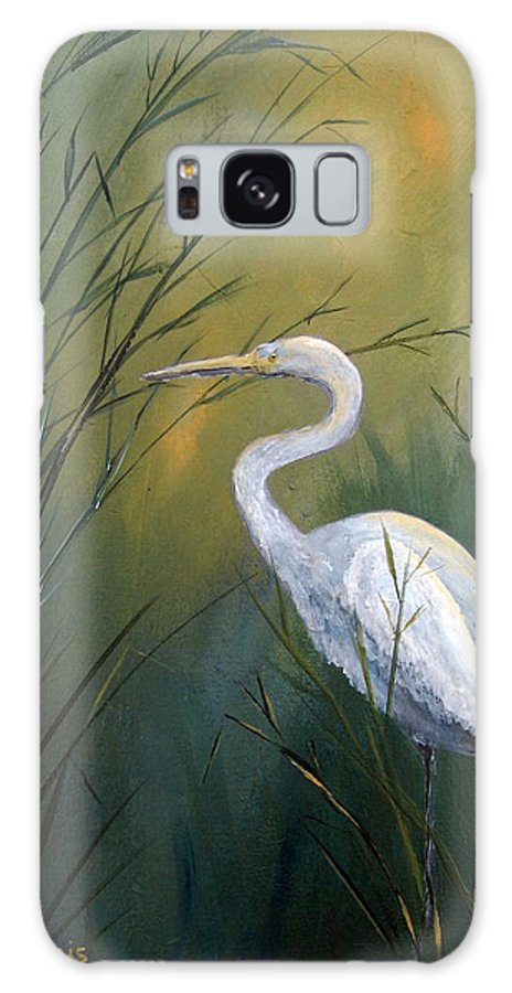 Louisiana Art Galaxy S8 Case featuring the painting Serenity by Suzanne Theis