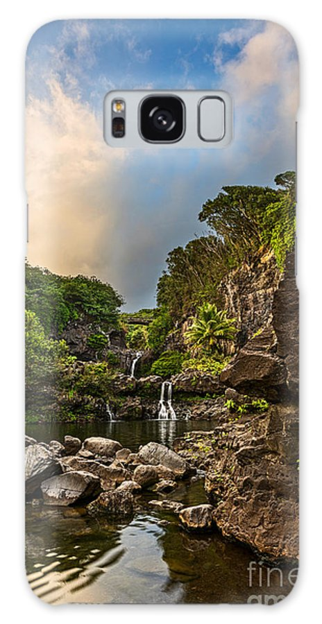 Seven Sacred Pools Galaxy S8 Case featuring the photograph Seven Sacred Paradise by Jamie Pham