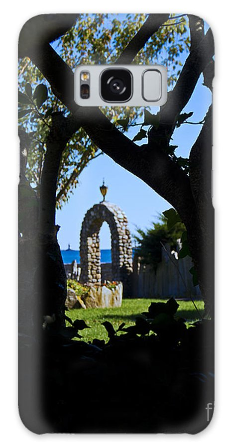 Park Galaxy S8 Case featuring the photograph Shaded Solitude by Joe Geraci