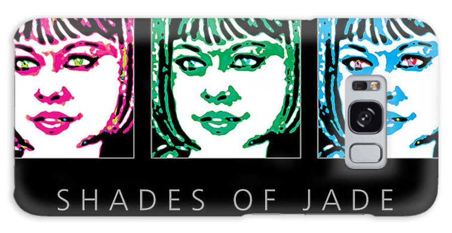 Woman Images Galaxy S8 Case featuring the digital art Shades Of Jade Poster by David Davies