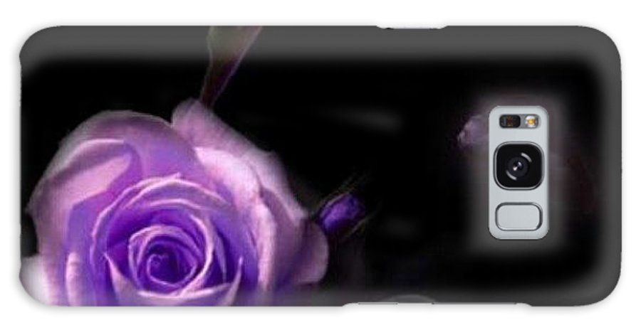 Galaxy S8 Case featuring the digital art Shadow In The Dark by Tracie Howard