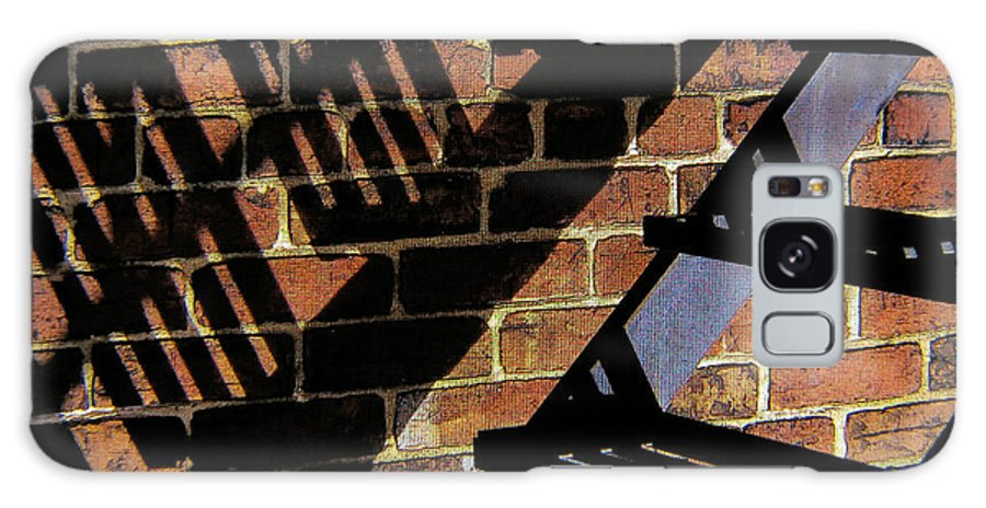 Shadow Galaxy S8 Case featuring the photograph Shadow Walker by Douglas J Fisher