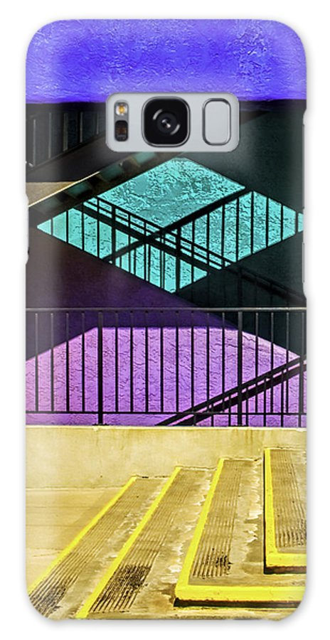 Architecture Galaxy S8 Case featuring the photograph Shadows by Maria Coulson