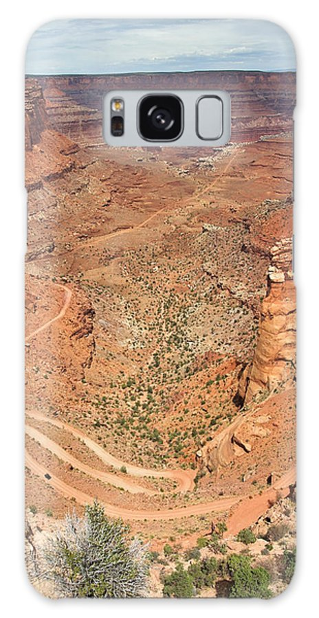 3scape Galaxy S8 Case featuring the photograph Shafer Trail by Adam Romanowicz