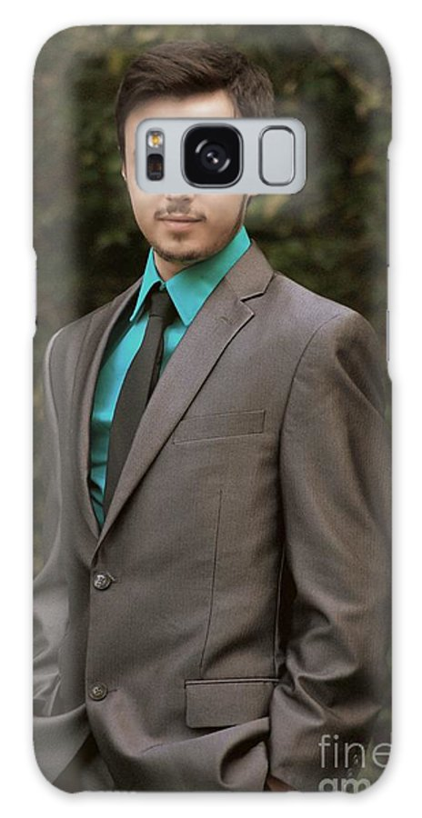 Portrait Galaxy S8 Case featuring the photograph Sharp Dressed Man by Paul Wilford