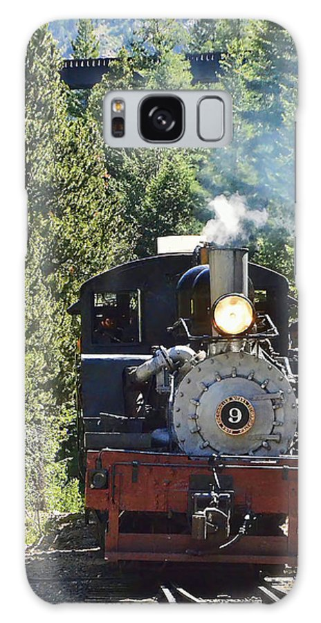 Steam Train Galaxy S8 Case featuring the photograph Shay On The Loop by Ken Smith